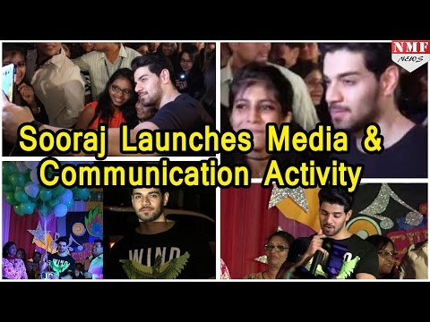Suraj Pancholi launches Media & Communication Activity | Janki Devi Public School
