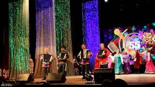 Фрагмент концерта в честь 55-летнего юбилея ГДК Биробиджана