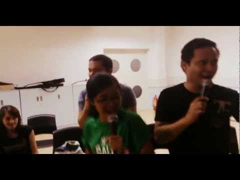 Victory Malate Sunday Worship Team Rehearsals of Sige Lang by Quest