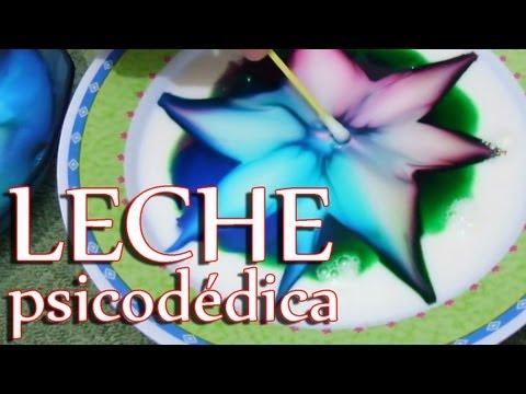 Leche psicodélica│ Experimento Fácil