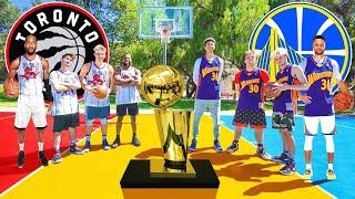 Download Raptors vs Warriors NBA FINALS Basketball challenges Mp3 and Videos