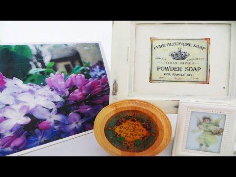 DIY Image Transfers on Canvas Wood Glass Metal