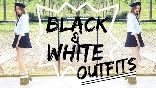 Black & White Lookbook | Monochrome Outfits Thumbnail