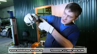 Замена топливного фильтра Мицубиси Паджеро(Замена топливного фильтра Мицубиси Паджеро., 2013-03-02T19:03:19.000Z)