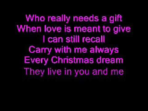 Christina Perri - Something About December (Lyrics)