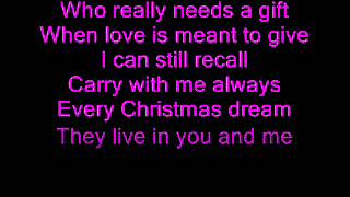 Christina Perri - Something About December (Lyrics)