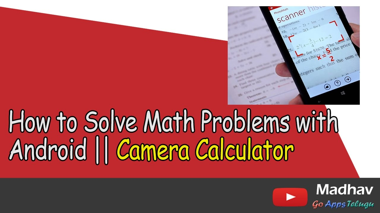 how to do a math problem 7 Tips for Maths Problem Solving