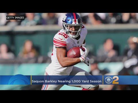 Barkley Rewarding Giants With Stellar Rookie Season