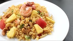 Pineapple Fried Rice Recipe ข้าวผัดสัปปะรด - Hot Thai Kitchen