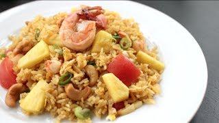 Pineapple Fried Rice - Hot Thai Kitchen ข้าวผัดสัปปะรด