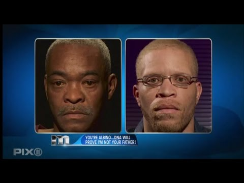 The Maury Show | You Are Not My Son. We Have No Albinos In My Family!