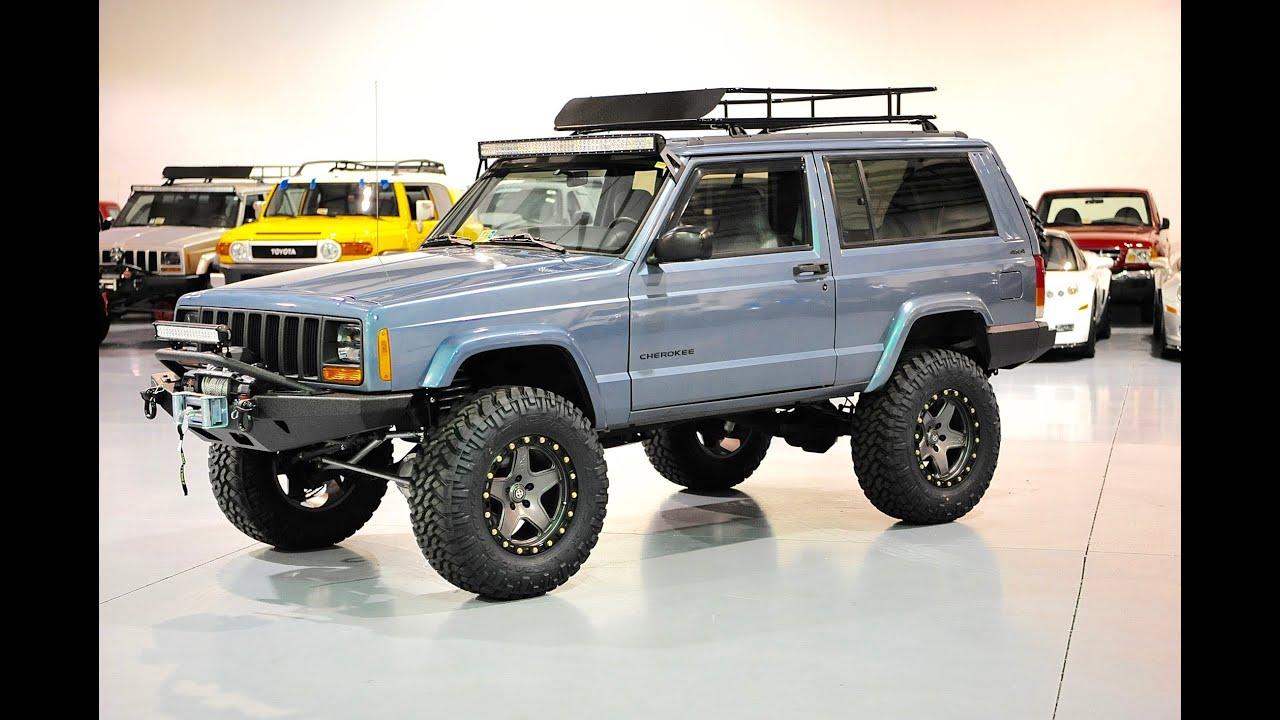 Davis Autosports Stage 4 Lifted Cherokee Xj For Sale