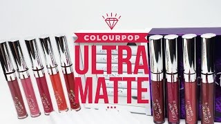 [SWATCH + REVIEW] COLOURPOP ULTRA MATTE LIP (PT.2) (WITH CC ENGSUB)