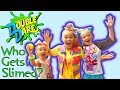 watch he video of Meeting JoJo Siwa in Real Life at Nickelodeon Double Dare! Who Gets Slimed? VidCon 2018