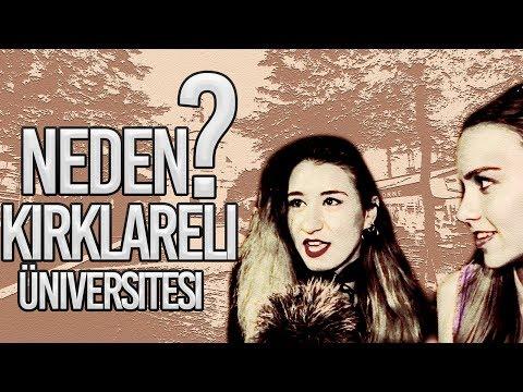 Neden Kırklareli Üniversitesi ? | Kırklareli Sokak Röportajı #25