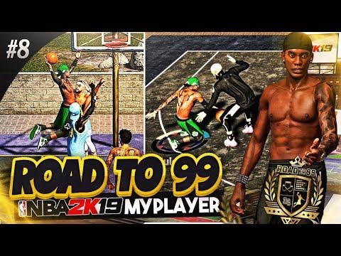 Slasher Going CRAZY • Shocking Two Men Posterizing Dunk SHEESH!!! NBA 2k19 MyPark