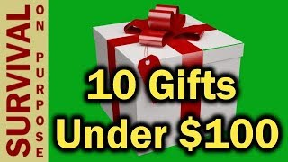 10 Outdoor and Tactical Gift Ideas Under $100 -2018