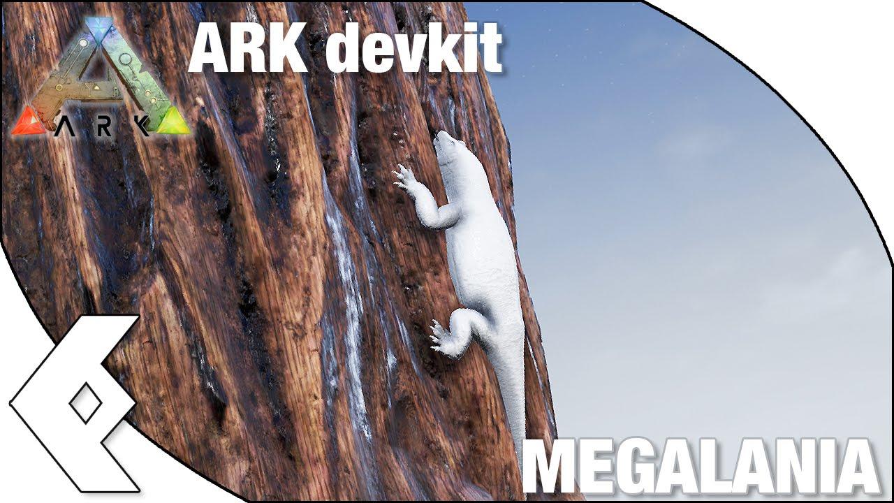 ARK Devkit - MEGALANIA - dino spotlight and dossier | Daikhlo