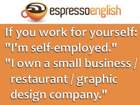 Business English Course - Lesson 1 - Essential Job Vocabulary  Free Online Languages