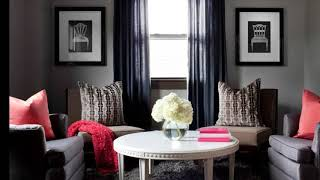 40 Beautiful Living Room With Red Accent Wall Ideas