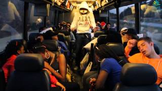 Harlem shake in bus