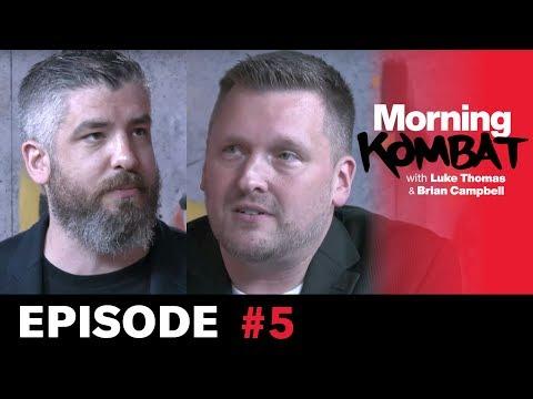UFC on ESPN 5, Colby Covington, Shevchenko | MORNING KOMBAT | Ep. 5 | BELOW THE BELT