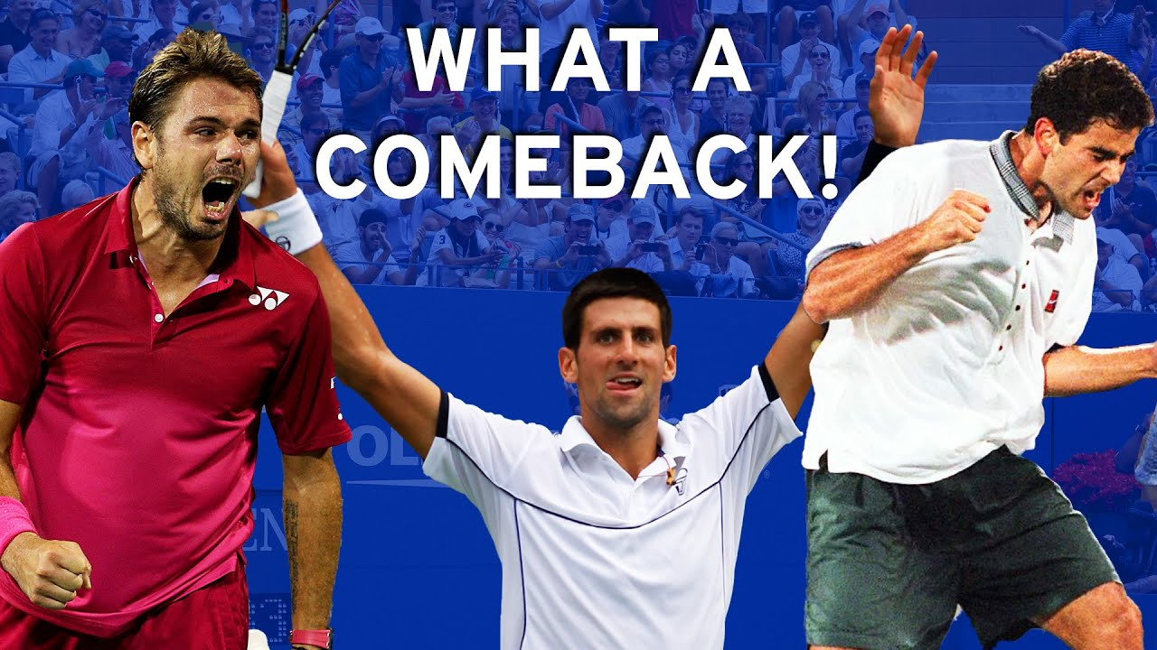 From match point down to US Open champion!
