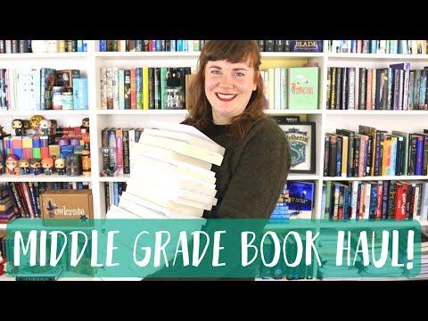 MIDDLE GRADE BOOK HAUL!
