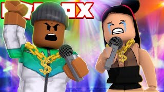 EPIC RAP BATTLE IN ROBLOX