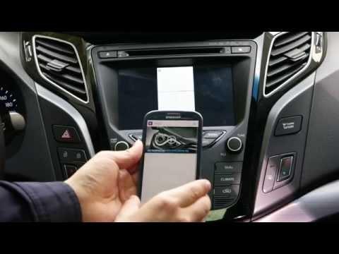 i40 Navigation Wireless Screen Mirroring i40