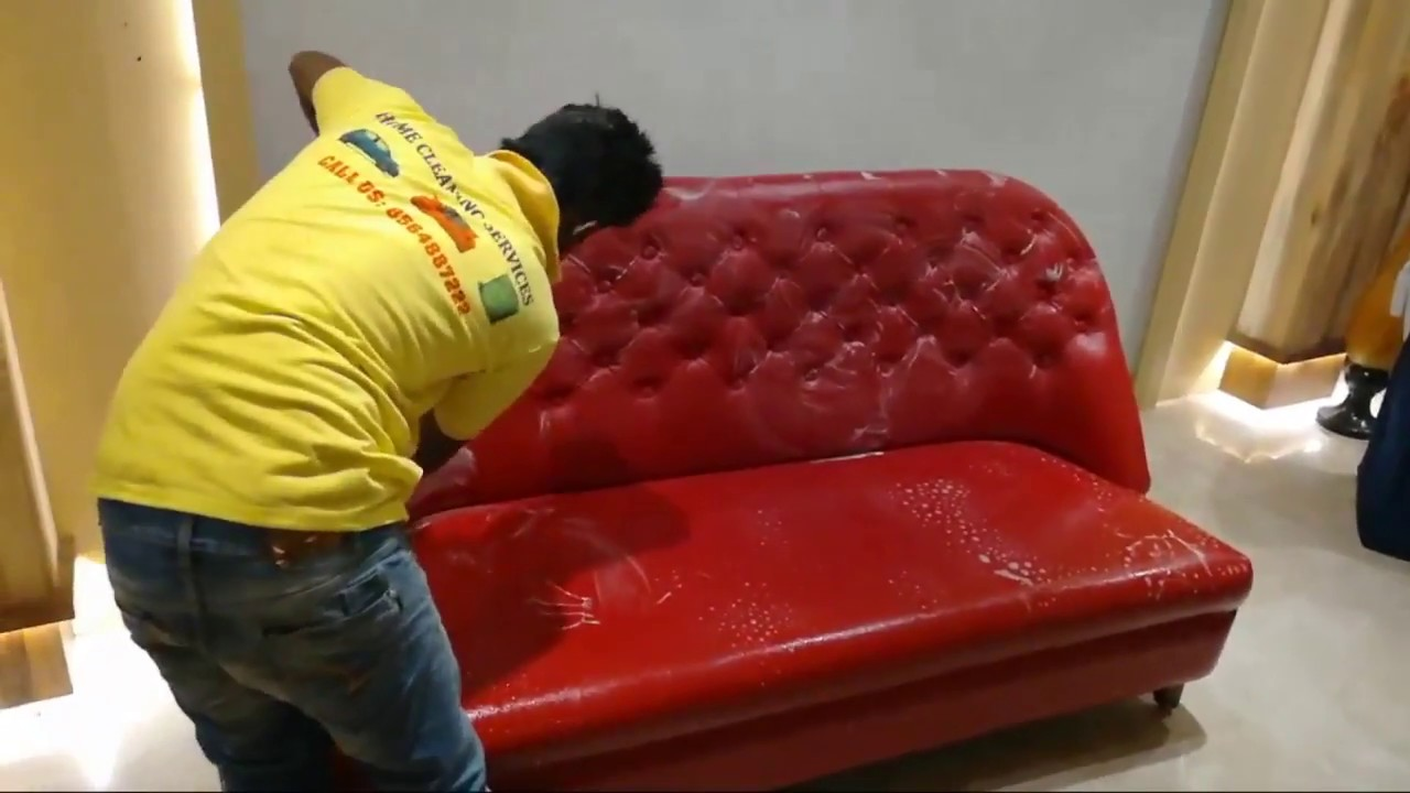 Leather Sofa Cleaning How To Clean At Home You