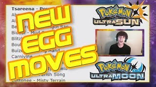 Pokémon Ultra Sun and Ultra Moon DISCUSSION - NEW EGG MOVES