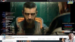 Глад Валакас Смотрит Трейлер Киберпанк 2077