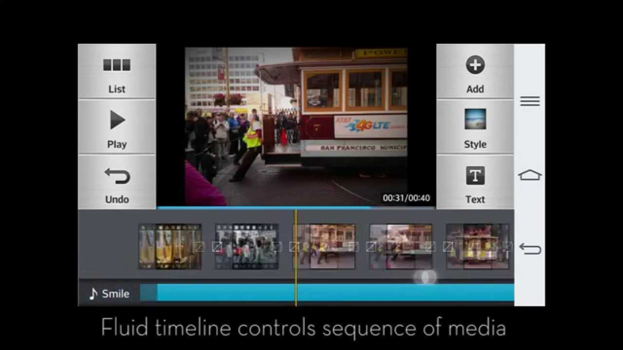 Video Editor Pro on LG G2 - Auto+Manual Video Editor for Android