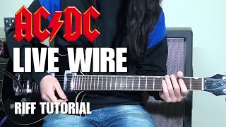 Learn The Riff | Live Wire | AC/DC