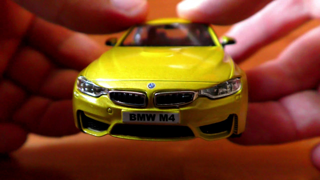 Unboxing Toy Car Bmw M4 Driving Away With A Real Sound Youtube
