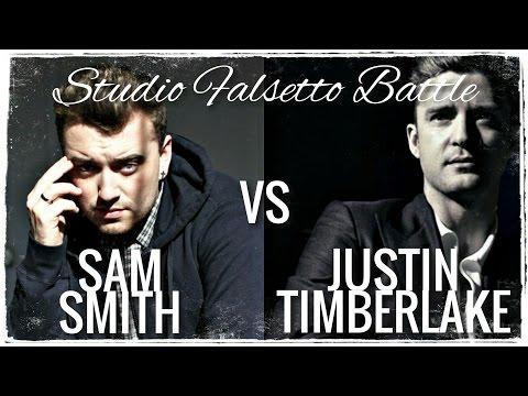 Sam Smith VS Justin Timberlake // Studio Falsetto Battle (A4-C6)