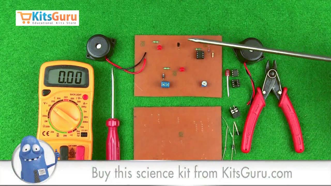 Low Voltage Protection Alarm By KitsGurucom LGKT YouTube - 12v low voltage protection relay