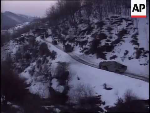 Serbian Police fights KLA terrorist in Kosovo