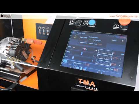ONYX Tester, new Smart Automated 12/24V Starter & Alternator Tester Bench - by TMA
