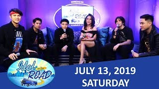 Idol On The Road Live Update and Idol On The Road with KaladKaren and BoybandPH | July 13, 2019