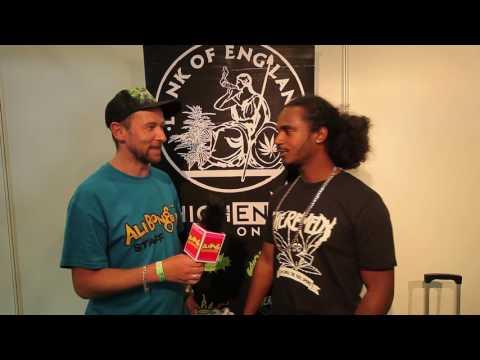 Ali Bongo's Joe interviews Black the Ripper from DANK OF ENGLAND