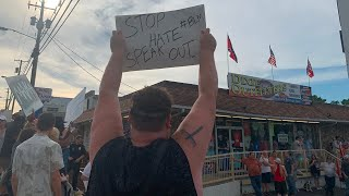 Black Lives Matter Protest Targets Branson Confederate Store