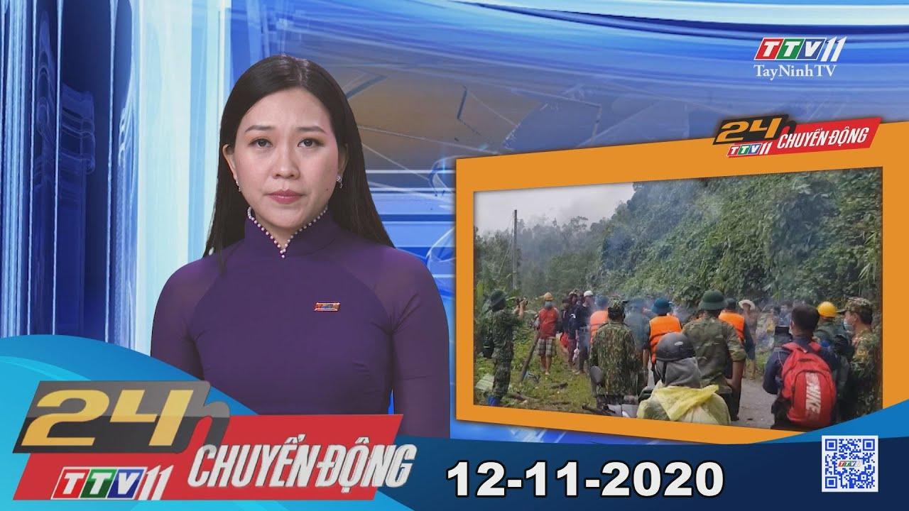 24h Chuyển động 12-11-2020 | Tin tức hôm nay | TayNinhTV