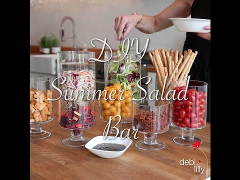 DIY Summer Salad Bar