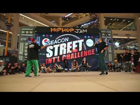 """SmallBlack vs Oam Thezoo, HipHop Battle  Final ''[ Seacon Street Challenge ]"""" Bangkok Thailand"""