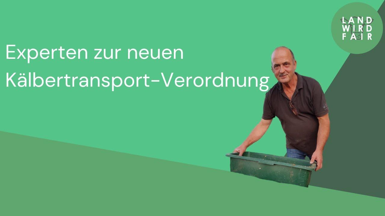 Experten zur Kälbertransport-Verordnung