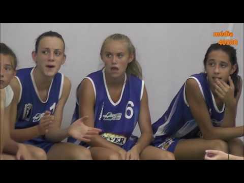 Cadettes BCG contre Minimes France Basket-Landes 3 sept 2016