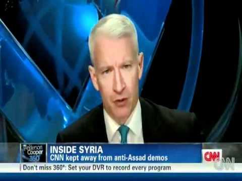 CNN Report - What happened in damascus university after Al Assad's Speech