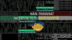 Näin parannat Facebookin yksityisyyttä